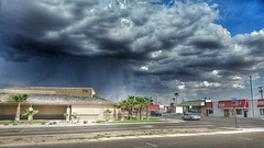 9-8-15 storm approaching (boxcustom) Tags: arizona rain weather clouds 4th ave thunderstorm thunder yuma s5 gcarvajal