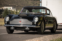 Aston Martin DB4GT. (Hunter J. G. Frim Photography) Tags: old black classic colorado martin historical british db4 rare supercar aston 1960 superleggera db4gt i6 astonmartindb4 astonmartindb4gt