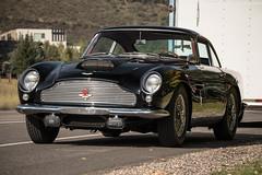 Aston Martin DB4GT. (Hunter J. G. Frim Photography) Tags: old black classic colorado martin historical british db4 rare supercar aston 1960 superleggera db4gt i6 astonmartindb4 astonmartindb4gt