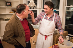 Chefs Jose Andres and Adam Sobel at the 'Suppers' Portion of this Event (DC Central Kitchen) Tags: suppers joseandres adamsobel kencedeno sipsandsuppers