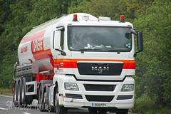 MAN Turners Soham DG11 PZV (SR Photos Torksey) Tags: road man truck transport lorry commercial vehicle tanker turners haulage hgv lgv