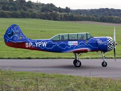 SP-YPW (ChrischMue) Tags: private yakovlev yak52 ballenstedt verkehrslandeplatz edcb spypw