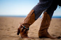 These boots ..... [Explore] (Peter Branger) Tags: beach sand boots cowboyboots canoneos5d sendra activeassignmentweekly bestofweek1 bestofweek2 bestofweek3 bestofweek4 newpetzval thatismysong