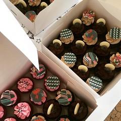 Kenzo mini cupcakes