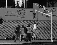 Street basket (ldopa95) Tags: street parque espaa blanco gris jump spain basket negro centro salto malaga miramar partido fuengirola comercial baloncesto