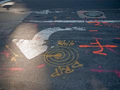 Drawings (Birgit Speulman) Tags: tarmac pavement asphalt