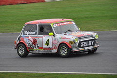 MINI Se7en Racing - R3 (29) Leon Wightman (Collierhousehold_Motorsport) Tags: mini minicooper barc snetterton minimiglia mini7 minise7en snetterton300 minise7enracing