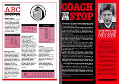 Bristol City vs Aston Villa - 1979 - Page 26&27 (The Sky Strikers) Tags: city bristol big break howard jimmy az right talent villa abc mann column everything prichard aston coaches reserves exciting atittude youths blether