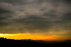 C'est le dbut de la journe (- Ali Rankouhi) Tags: park morning orange cloud mountain fall water fire iran tehran       2015  1394       aboatash abvaatash