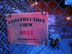Sam Andreas & Son Construction (meeko_) Tags: world sign rock fence construction florida disney queue hollywood roller waltdisneyworld studios walt coaster themepark attraction sunsetboulevard rocknrollercoaster disneys samandreas disneyshollywoodstudios
