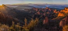 Las Médulas (Jose Antonio. 62) Tags: panorama españa beautiful photography spain colours león panorámica lasmédulas elbierzo
