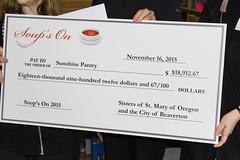 A big check for a big moment (SSMO Campus) Tags: sisters sister beaverton presentation donations bigcheck soupson ssmo mayordoyle sistersofstmaryoforegon srcolleenschmitt sunshinepantry srdeloresadelman