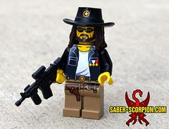 General Vargas (Saber-Scorpion) Tags: lego rpg minifig vargas wasteland fallout moc postapocalyptic minifigures kickstarter brickarms postapoc wasteland2 generalvargas