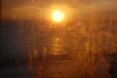 dirty windows (remcclean) Tags: ocean bridge windows winter sea sun beach window sunrise dawn bay coast south yorkshire north dirty east spa