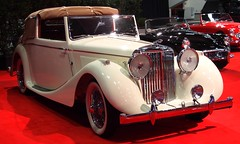 1948 Jaguar Mark IV Drophead Coupe 4 (Jack Snell - Thanks for over 26 Million Views) Tags: sf auto show ca 58th wallpaper art cars 1948 wall vintage paper san francisco display mark center international jaguar collectible moscone iv coupe drophead excotic jacksnell707 jacksnell accadomy