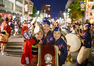 Group shot just after the performance at Michinoku Awaodori 2015 *explored*