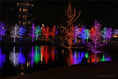 Vitruvian Park (Jon Williamson) Tags: christmas xmas night lights texas tx addison vitruvianpark
