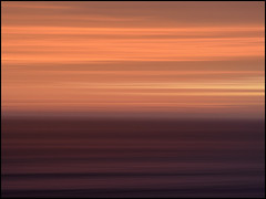 Anamorphic Sunset. SCHNEIDER KREUZNACH CINELUX 2X (MikeJoints) Tags: sunset summer seascape abstract art flickr anamorphic flickraward flickraward5 flickrawardgallery