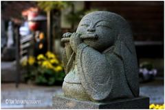 Daien-ji (Doubletee) Tags: sculpture statue japan stone geotagged temple tokyo dof bokeh kitlens flute meguro buddhisttemple daienji meguroku canonefs1855mmf3556 daienjitemple
