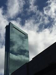 the sky (Hayashina) Tags: usa boston reflection building sky