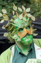 Green Man of the Fens (sasastro) Tags: pentaxk5iis pentax pentaxda50135f28 greenman ely uk