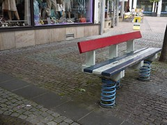 Bench on Springs (crystalseas) Tags: bench germany spring wooden takeaseat