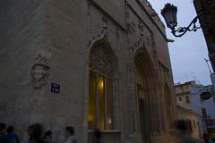 (IlPoliedrico) Tags: valencia spain spagna travelling wander llotjadelaseda architecture architettura gothic gotico