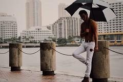 Miami rains (eddx004x) Tags: classic city urban pose rain