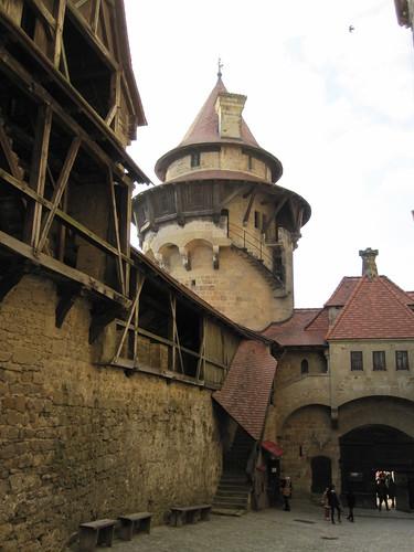 Vorhof Burg Kreuzenstein 1
