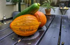 Herbst - autumn (Krnchen59) Tags: herbst autumn krbisse pumpkins dekoration garten tisch sony krnchen59 elke krner