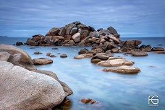 Pink rocks (Fabien Georget (fg photographe)) Tags: pink rocks granit longexposure eau ocean mer lighthouse sea landscape paysage water sky ploumanach ayezloeil beautifulearth bigfave canoneos600d canon elitephotography elmundopormontera eos fabiengeorget fabien fgphotographe flickr flickrdepot flickrunited georget geotagged flickunited longue mordudephoto nature paysages perfectphotograph perfectpictures wondersofnature wonders supershot supershotaward theworldthroughmyeyes shot poselongue photography photo greatphotographer french monument perrosguirec bluehour bretagne britanny seascape sunset slowshutter