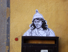 kogi head 2 (streetwarriors) Tags: ludwig ludwigraphik collage kogi streetart streetwarriors paste up