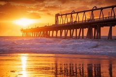 The Spit || MAIN BEACH || GOLD COAST (rhyspope) Tags: australia aussie cld queensland gold coast spit sunrise sea ocean silhouette sky clouds rhys pope rhyspope canon 5d mkii waves beach main