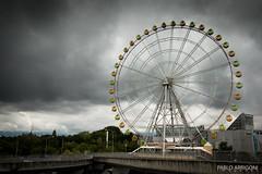 Wheel of fortune (Pablo Arrigoni) Tags: japn japan travel viaje wheel rueda fortuna fortune sky cielo canon eos 70d 18135 eos70d park parque hollidays vacaciones motion movimiento outside outdoor asian asia forest bosque kyoto