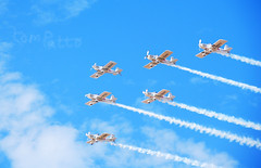 """FORMATION TEAM """"THE BLADES"""" (tommypatto : ~ IMAGINE.) Tags: southport airplanes airshows aircraft"""