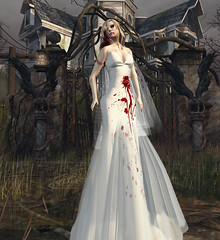 Zombie Bride (MISS V VENEZUELA 2014MissVeroModero2013) Tags: sas saschasdesigns halloween zombie skull calavera