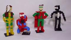Heroes (andresignatius) Tags: lego miniland spiderman rogue xmen symbiote marvel capitán aibi aibiman