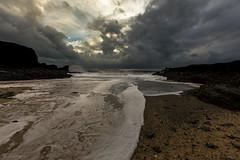 Porth y Post Anglesey (nigel.barry22) Tags: sky cloud storm sea waves beach sand rock headland coast shore cove bay porthypost trearddurbay porthdafarch holyhead anglesey