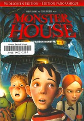Monster House (Vernon Barford School Library) Tags: danharmon robschrab pamelapettler gilkenan stevebuscemi maggiegyllenhaal catherineohara fredwillard kathleenturner animatedfilms animation animated fantasyfilms fantasy drama adventure adventures monster monsters dwellings houses homes children kids fear scared scary fright vernon barford library libraries new recent video videos film films junior high middle school covers cover videocase videocases dvd dvds dvdcase motionpicture motionpictures