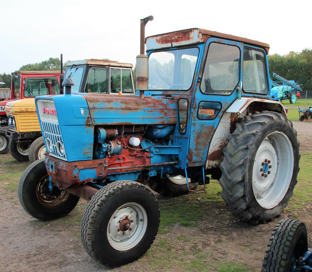 1975 Ford 4000 Tractor : The world s best photos of cheffins and ford flickr hive