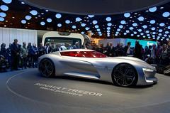Renault Tresor Concept (Joseph Trojani) Tags: renault tresor voiture concept conceptcar salondelautomobile paris lectrique nikon d7000 motor auto show motorshow vhiculelectrique electricvehicle