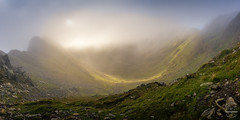 Nethermost Cove (tristantinn) Tags: helvellyn cumbria lakedistrict striding egde stridingedge nethermost cove glenridding patterdale mountain uk england britain landscape panorama