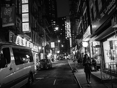 Untitled (C@mera M@n) Tags: chinatown chinese city cityatnight ny nyc newyork newyorkcity nightphotography places urban nycphotography outdoors signs