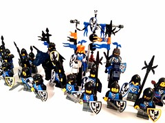 Black falcons (spaghettofil) Tags: black falcons lego castle knights custom decals stickers brickforge brick forge arms brickarms