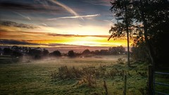 October Morning (cofarrell25) Tags: sunset outdoor serene sky field fields green skyscape sunrise inspiration incredible inspired dawn autumn october landscape landscapes