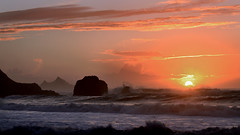 Rockaway Wallpaper (JINfotografo) Tags: pacifica pacificocean california northerncalifornia rockawaybeach rockaway sunset landscape seascape
