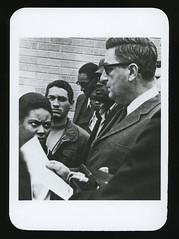 Blacks Confront Administration with Demands, 5-10-1968 (Regional History Center & NIU Archives) Tags: boycott demonstration protest niu northernillinoisuniversity student activism