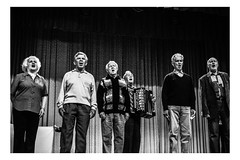 The Old Chorus (Roman Lunin) Tags: ukraine easternukraine elderly old chorus people blackwhite blackwhitephoto blackwhitephotography bw black white singer soviet ussr accordion