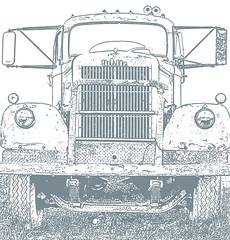 Black And White (racerx6948) Tags: trucks truck semitruck white pentax rusty