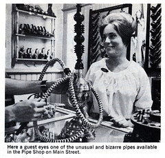 Hookah for sale at the Pipe Shop on Main Street USA in Disneyland, 1966 (Tom Simpson) Tags: disney disneyland vintage vintagedisney vintagedisneyland 1966 1960s drugs hookah pipe pipeshop mainstreetusa mainstreet shop